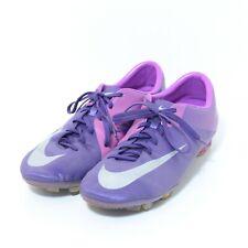 "Nike Mercurial Vapor Superfly III "" US 11 "" Purple Silver Soccer Boots, USED"