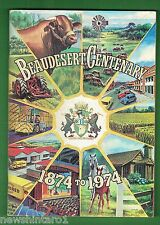 #T52. Australiana Book - Beaudesert Centenary 1874 - 1974