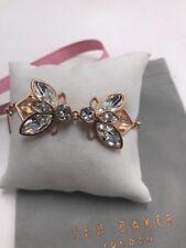 $99 Ted Baker rose gold tone geometric bee bracelet m19