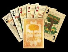 Permaculture Playing Cards Deck by Paul Wheaton Printed By Liberty New