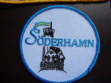 Embroidered Uniform Patch Soderhamn Castle LOOK