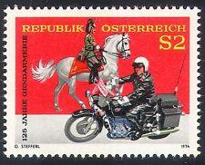 Austria 1974 Police/Motor Cycle/Bike/Horse 1v (n24619)