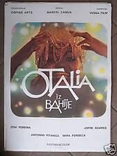 OS PASTORES DA NOITE-MARCEL CAMUS-YUGO MOVIE POSTER '75