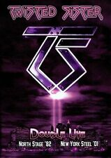 TWISTED SISTER-DOUBLE LIVE: NORTHSTAGE 1982  and NY STEEL 2001  2-DVD Set  NEW!!