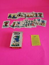 Vintage Minniature Snap Travel Card Game EXCELLENT CONDITION