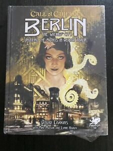Call of Cthulhu RPG Berlin The Wicked City USED