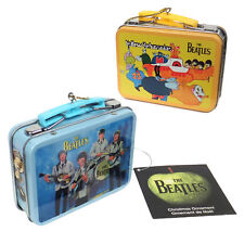 Beatles Collectibles: 2012 Kurt Adler Miniature Aladdin Lunch Box Xmas Ornaments