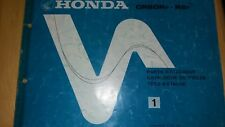 NOS HONDA ELSINORE CR 80 RF 1985 genuine parts catalogue 13-GC4-F21 CR80R R2 BW