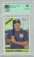 Carlos Correa 2015 Topps Heritage High Series #563 Rookie Card PGI 10