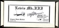 Copper State Models 1/48 British LEWIS Mk.III MACHINE GUN Resin & Photo Etch Kit