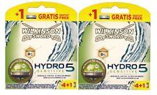 10 Wilkinson Sword Hydro 5 Sensitive Aloe Rasierklingen 2 x 4+1er Pack =10 Stk.