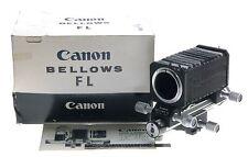 CANON BELLOWS FL MACRO CLOSE UP PHOTOGRAPHY ORIGINAL BOX MANUALVINTAGE EXCELLENT