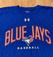 Under Armour x Fanatics Heat Gear Toronto Blue Jays T-Shirt Size Men's 2Xl Xxl