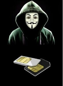 Anonymous Active UK SIM from UK for use in ITALY (ACTIVATED) SMS, Calls Internet
