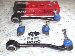 Fit 00-06 BMW E53 X5 4PCS Front Rearward Control Arm Lower Ball 31126756491 /315