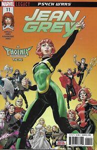 Jean Grey Comic 11 Cover A David Yardin First Print 2018 Dennis Hopeless Ramos