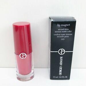 Giorgio Armani Lip Magnet Matte Liquid Lipstick, #003 Amped Coral, BrandNewInBox