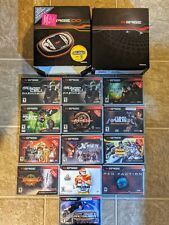 Nokia N-Gage Classic Edition QD- N Gage Gaming T-Mobile US 14 Games RARE  set