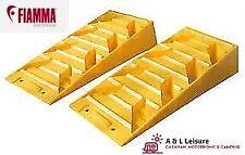 Fiamma Level Pro Yellow Levelling Ramps 5T Heavy Duty Motorhome, Caravan, Camper