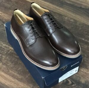 NEW Cole Haan Men's Morris Plain Ox Java Oiled Leather Size 10