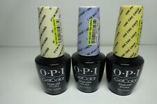 Opi GelColor Nail Polish - Gct71 Cloud Gct73 One Chic Gct76 Amethyst Lot Of 3