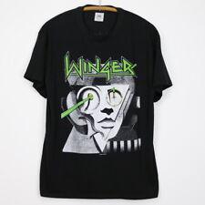 Vintage 1988 Winger American Debut Tour Shirt