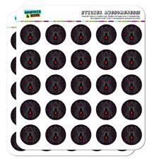 Black Widow Spider on Web Planner Calendar Scrapbooking Crafting Stickers