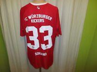 FC Würzburger Kickers capelli sport Trikot 2016/17 + Nr.33 Soriano Gr.XL Neu
