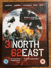 Craig Fairbrass 31 NORTH 62 EAST ~ 2009 Afghanistan War Thriller | UK DVD