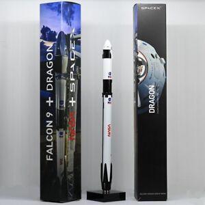 Space X Falcon 9 Crew Dragon Spacecraft Rocket Model Toy Desktop Decoration