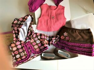 American Girl Bitty Twin Schooltime Skirt Outfit RARE Retired in 2008 New in Box
