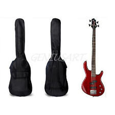 "Double Straps Padded Electric Bass Guitar Gig Bag Soft Case Backpack 40"" 41"""
