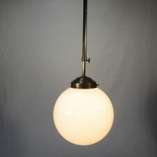 Verstellbare Deckenlampe Messing Hängelampe Antik Stil Deckenleuchte Kugelschirm