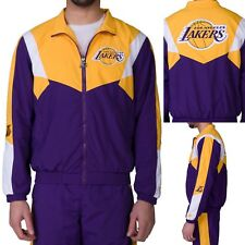 🏀Starter LA Lakers Nylon Track Jacket 🏀Size Large 🌟SHOWTIME 🌟
