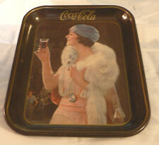 VINTAGE COCA COLA TRAY COKE SODA FOUNTAIN 1970'S DINER