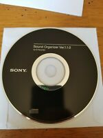 Pre-owned ~ Sony Sound Organizer Ver. 1.1.1 Software for IC Recorder (PC CD-ROM)