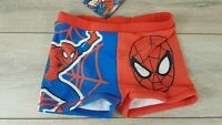 Official MARVEL Boys Swim Pants Spiderman Swimwear Shorts Age 9-10 YRS A36123