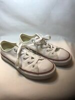 CONVERSE All Star Low Top Optical White Kids Sneakers Boys Size 2 Shoes