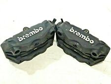 2015 R1200GS BREMBO MONOBLOCK FRONT BRAKE CALIPERS 100mm TRIUMPH UPGRADE
