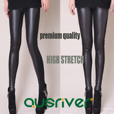 Unbranded Faux Leather Stretch Pants for Women
