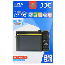 2x Film LCD Screen Display H3 Hard Protection for Canon Powershot G7X