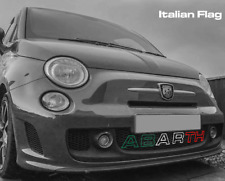Abarth 595 Styling- Outline Letters - Diffuser Badge Multiple Colours