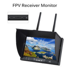 """Eachine FPV Monitor 7.0"""" IPS Monitor Display 40CH Dual Receiver For RC Drone FPV"""