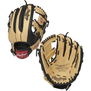 "Rawlings Select Pro Lite 11.5"" Youth Baseball Glove Camel/Black"