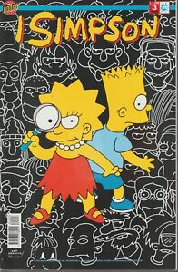 Rare italian edition I SIMPSON # 3 original  issue JULY 1998 Matt Groening