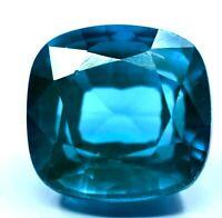 CERTIFIED 12.30 CT NATURAL NEON BLUE COPPER MANGANESE BEARING PARAIBA TOURMALINE