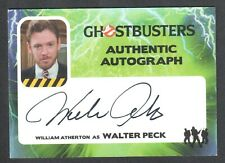 GHOSTBUSTERS (Cryptozoic 2016) AUTOGRAPH CARD #WA WILLIAM ATHERTON