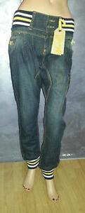 jeans pantalone ragazza FRANKIE GARAGE tg 30/44 cotone abbigliamento