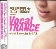 SUPER BEST TRANCE PRESENTS VOCAL TRANCE MIXED & SELECTED BY S.T.F. Japan CD