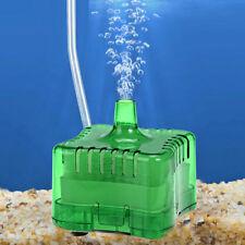 Aquarium Air Filtre Réservoir Biochimique Eponge Poisson pour Pompe Oxygène Vert